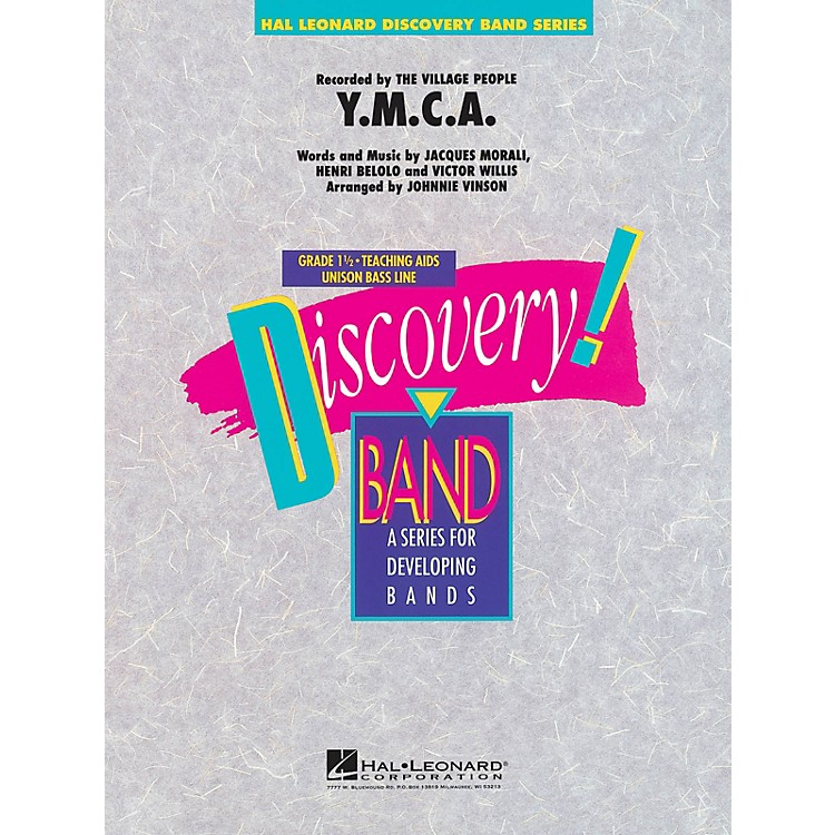 Hal LeonardY.M.C.A. Concert Band Level 1.5 by The Village People Arranged by Johnnie Vinson