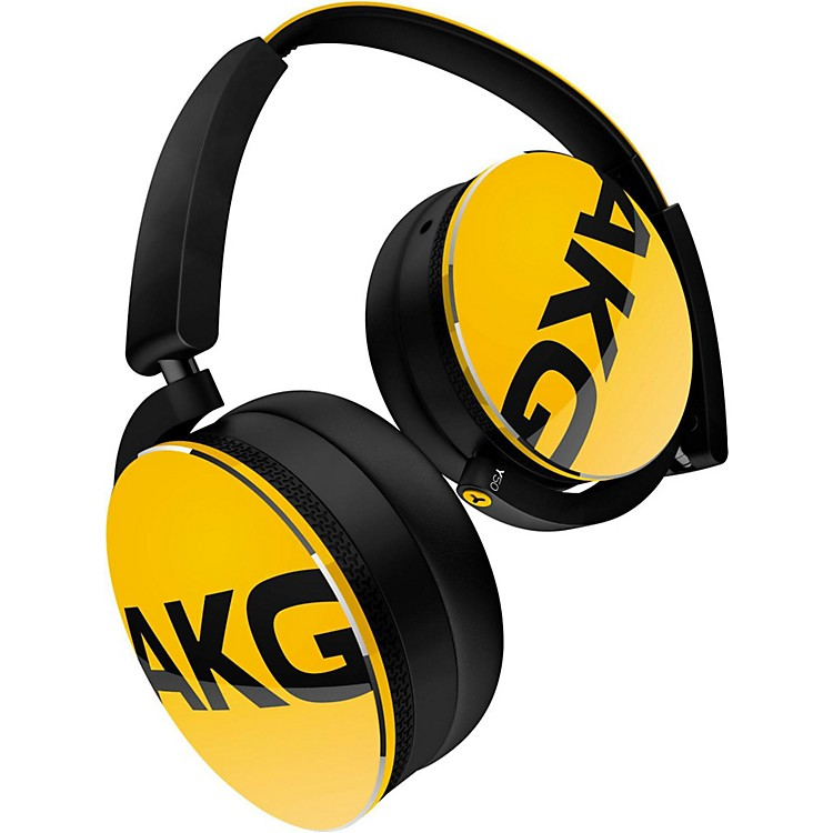 AKG Y50 On-Ear Headphone Yellow