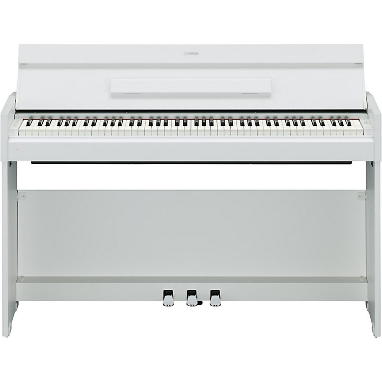 Yamaha YDP-S52 88-Note, Weighted Action Console Digital Piano White Walnut