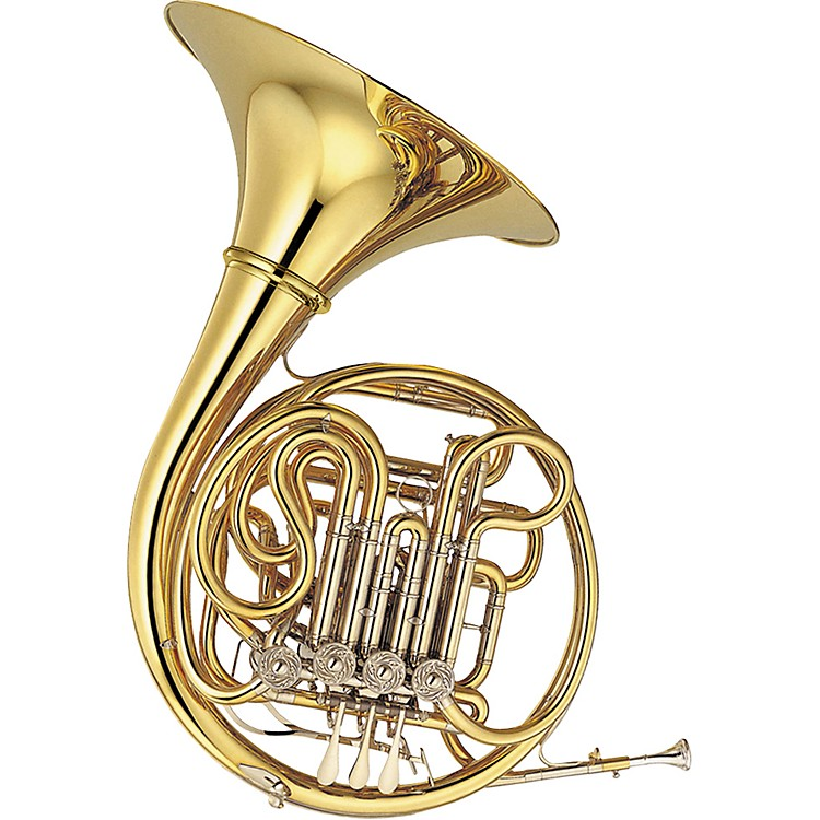 Yamaha YHR-891 Custom Series Triple French Horn Yhr891D- Unlacquered Detachable Bell