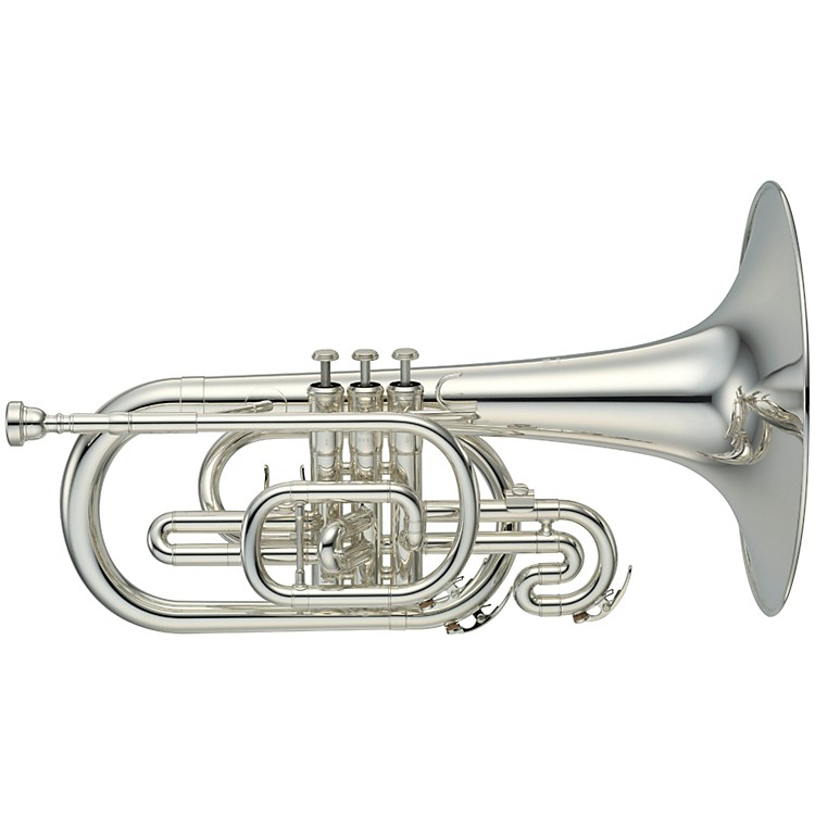 Yamaha YMP-204M Series Marching F Mellophone Lacquer