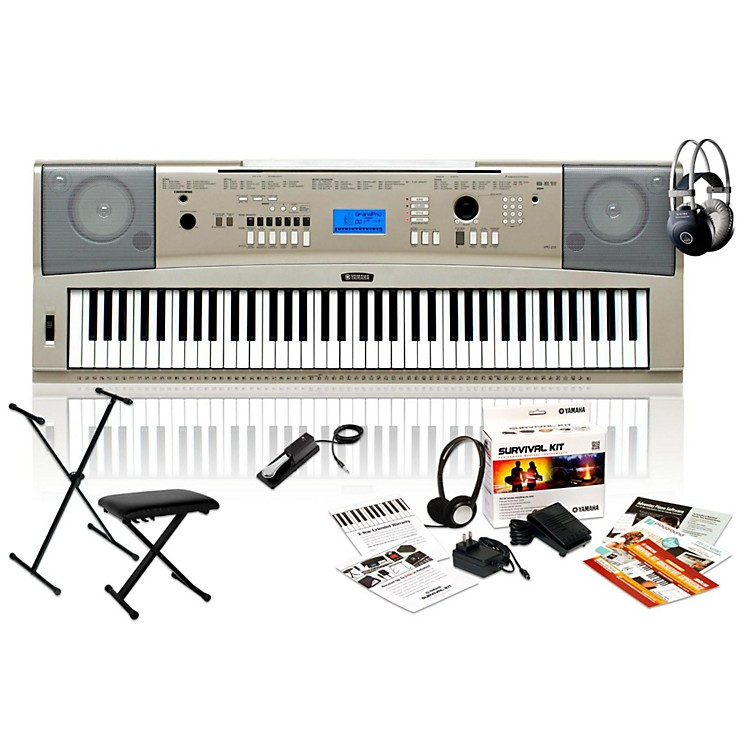 Yamaha ypg 235 portable keyboard package music123 for Ypg 235 yamaha