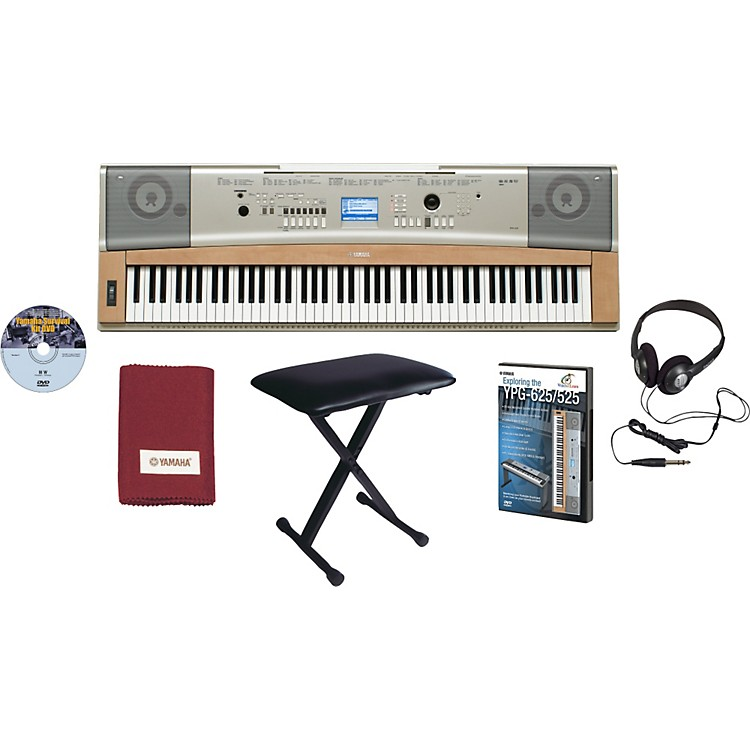 Yamaha ypg 635 package music123 for Yamaha ypg 535 weighted keys