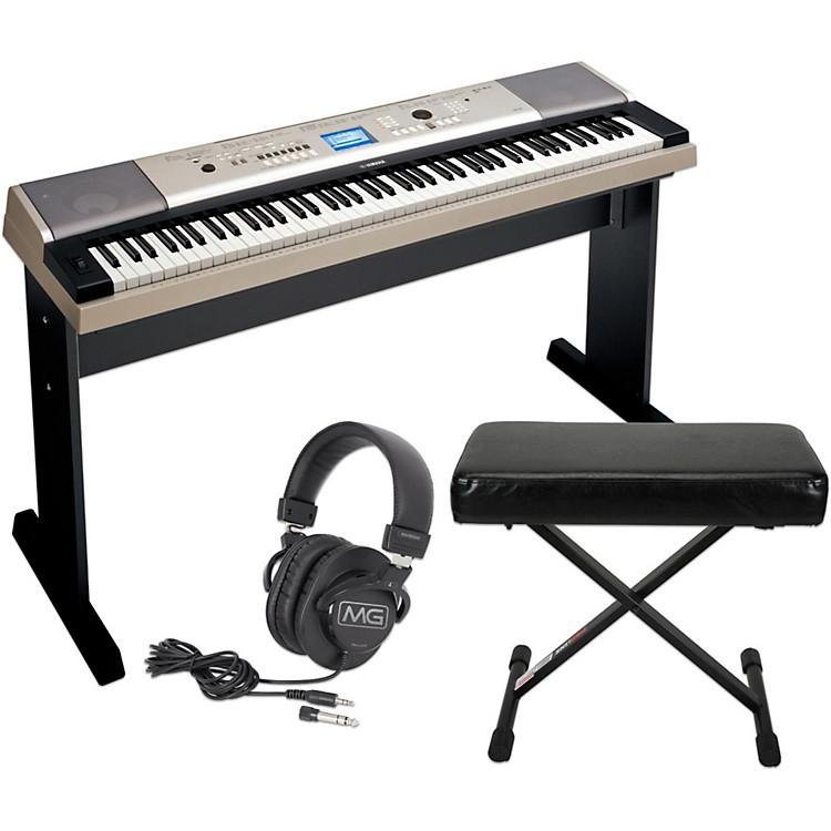 Yamaha ypg535 88key portable grand piano keyboard with for Yamaha digital piano controller