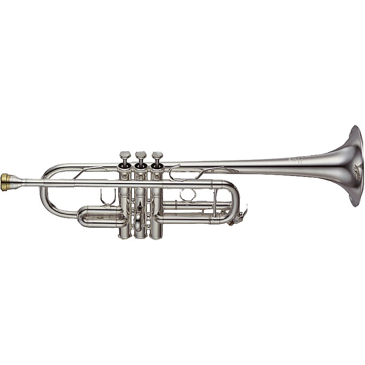 Yamaha YTR-8445 Xeno Series C Trumpet Silver Gold Brass Bell