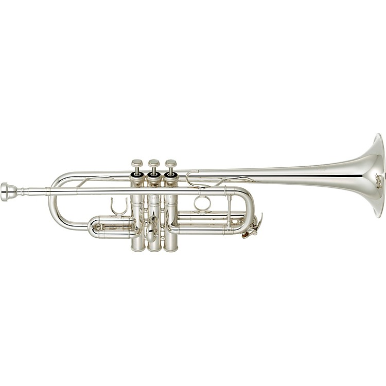 YamahaYTR-9445CHS III Artist Model C TrumpetSilver platedYellow Brass Bell