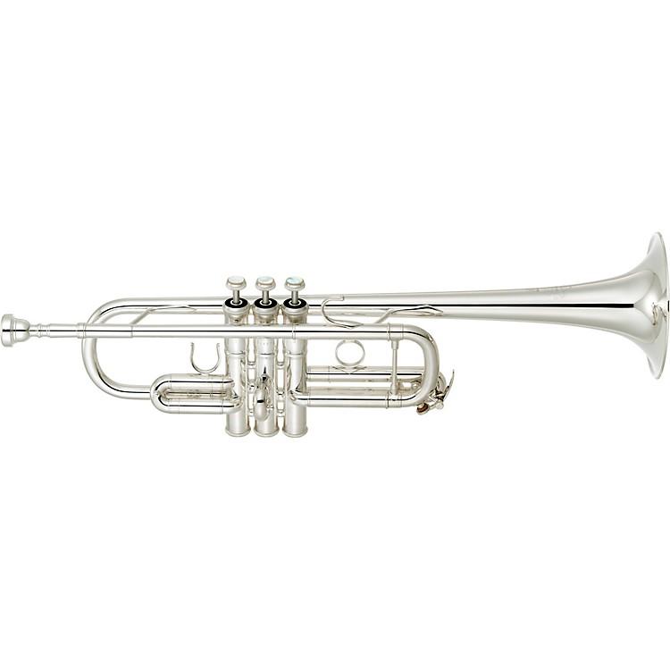 YamahaYTR-9445NYS-YM III Artist Model C TrumpetSilver platedYellow Brass Bell