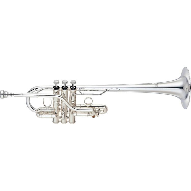 YamahaYTR-9636 Custom Series Eb / D TrumpetSilver