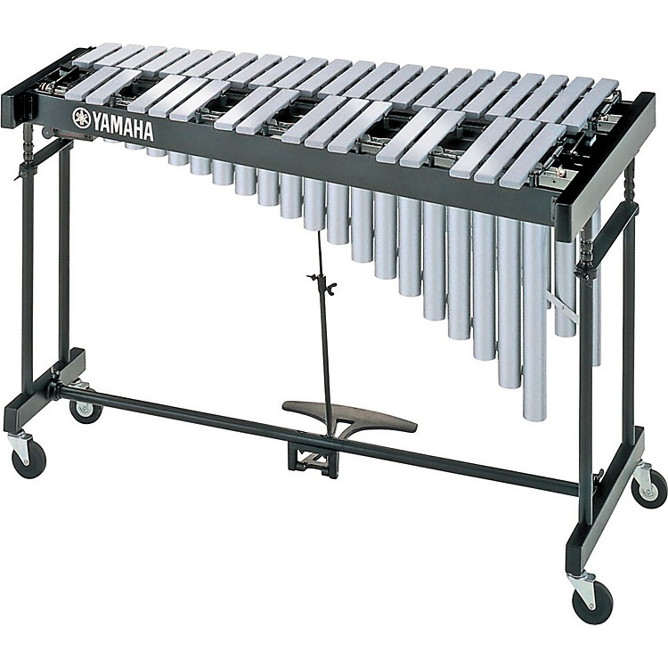 YamahaYV-1605 3-Octave Vibraphone with Matte Silver Bars