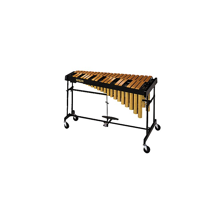 YamahaYVRD-2700GC Gold Intermediate Vibraphone With Multi-Frame II Stand and Cover 582355