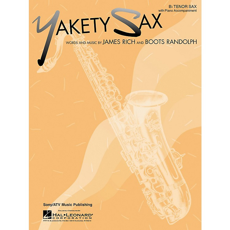 Hal LeonardYakety Sax for B Flat Tenor Saxophone with Piano Accompaniment Songbook
