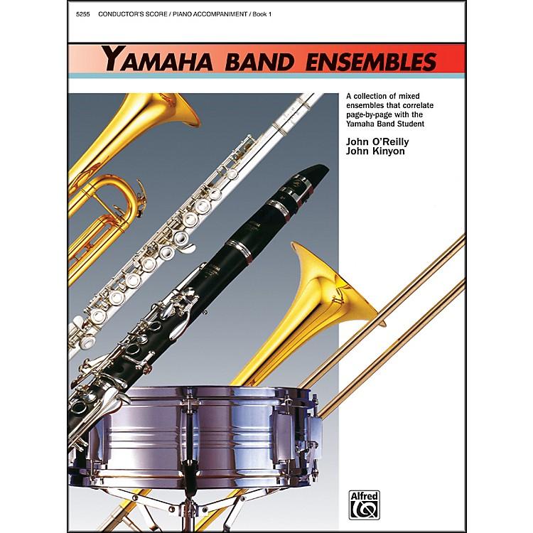 AlfredYamaha Band Ensembles Book 1 Piano Acc./Conductor's Score