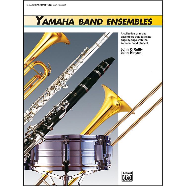 AlfredYamaha Band Ensembles Book 2 Alto Sax Baritone Sax