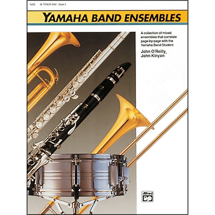AlfredYamaha Band Ensembles Book 2 Percussion