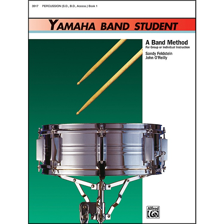 AlfredYamaha Band Student Book 1 PercussionSnare Drum Bass Drum & Accessories