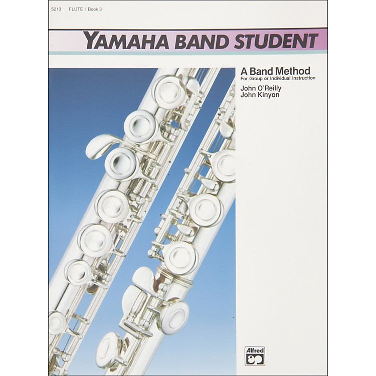 AlfredYamaha Band Student Book 3 Flute