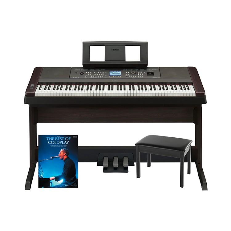 YamahaYamaha DGX-650 Platinum Bundle with Bench & Songbook