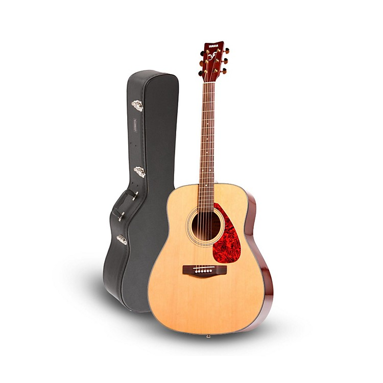 Yamaha Yamaha F335 Acoustic Guitar Natural with Road Runner RRDWA Case