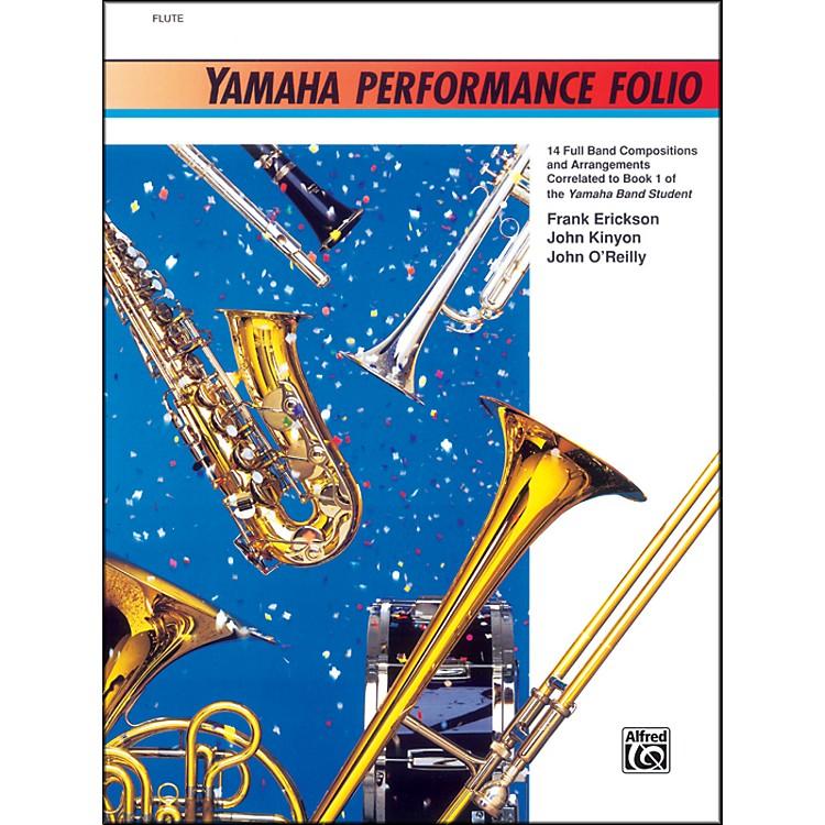 AlfredYamaha Performance Folio Percussion