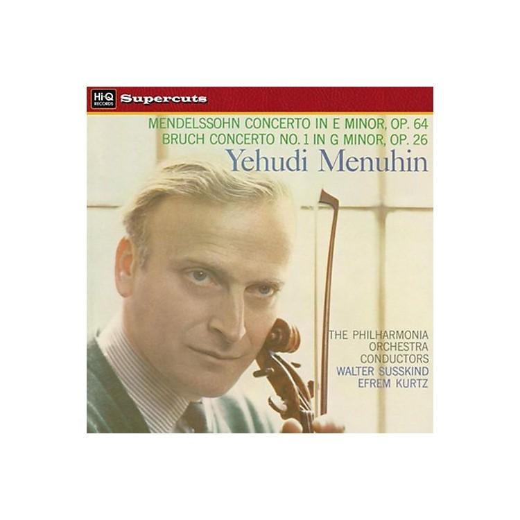 AllianceYehudi Menuhin - Mendelssohn & Bruch Violin Concertos
