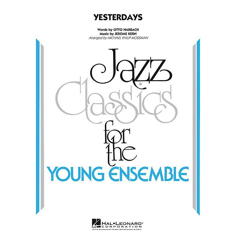 Hal Leonard Yesterdays  - Young Jazz Classics Level 3