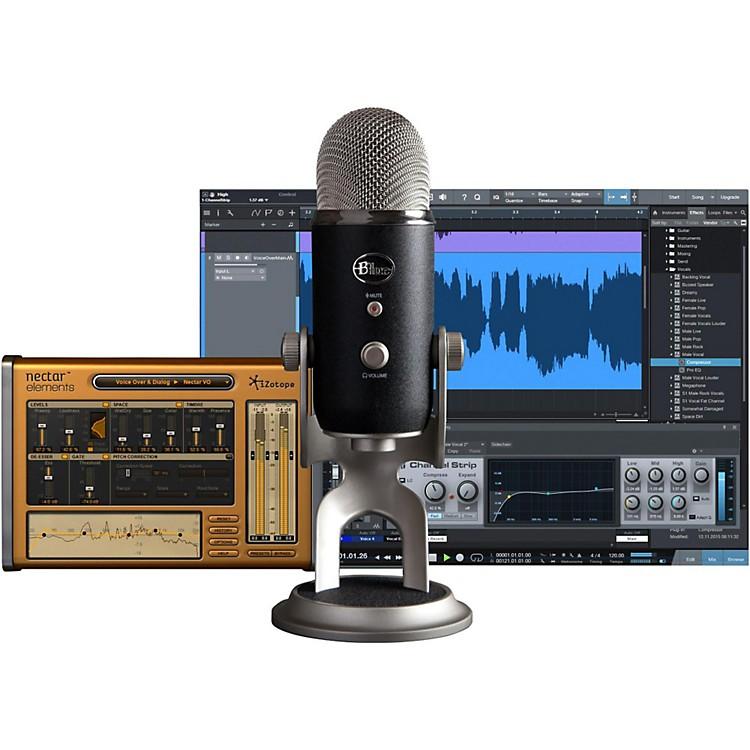 BLUEYeti Pro Studio USB/iOS Microphone - with $100 in SoftwareBlack