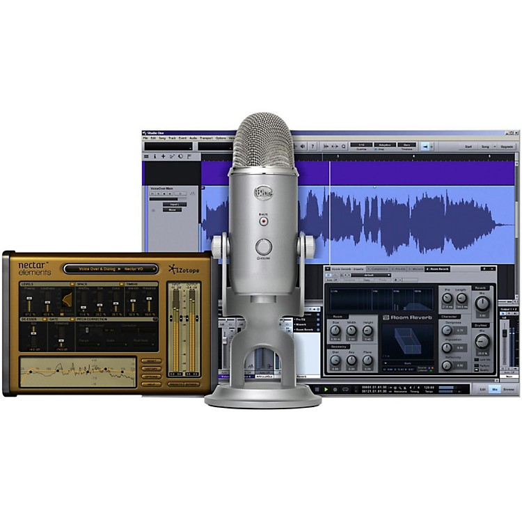 BLUEYeti Studio All-In-One Vocal Recording System
