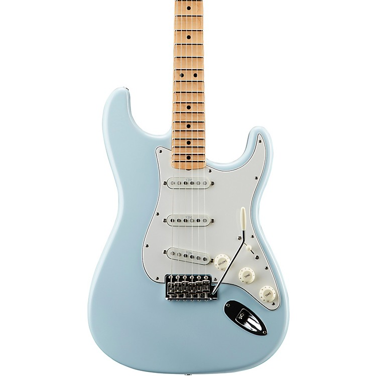 Fender Custom Shop Yngwie Malmsteen Signature Series Stratocaster NOS Maple Fingerboard Electric Guitar Sonic Blue