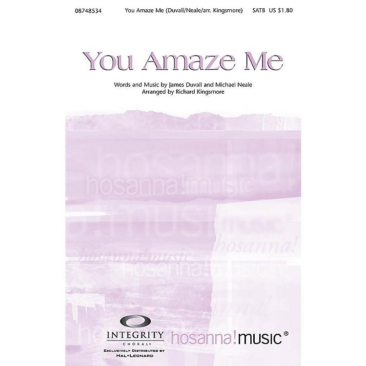 Integrity MusicYou Amaze Me Accompaniment CD Arranged by Richard Kingsmore