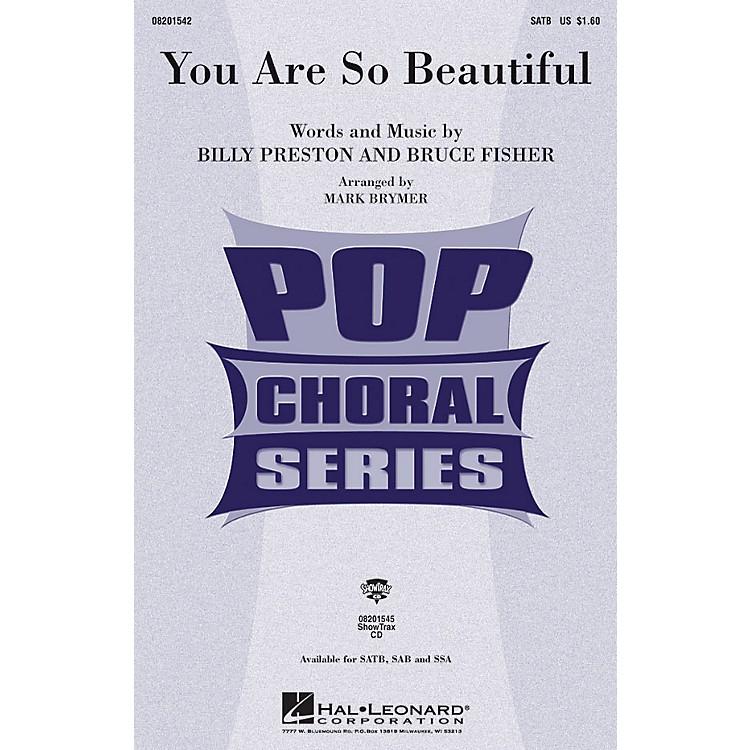 Hal LeonardYou Are So Beautiful ShowTrax CD by Joe Cocker Arranged by Mark Brymer