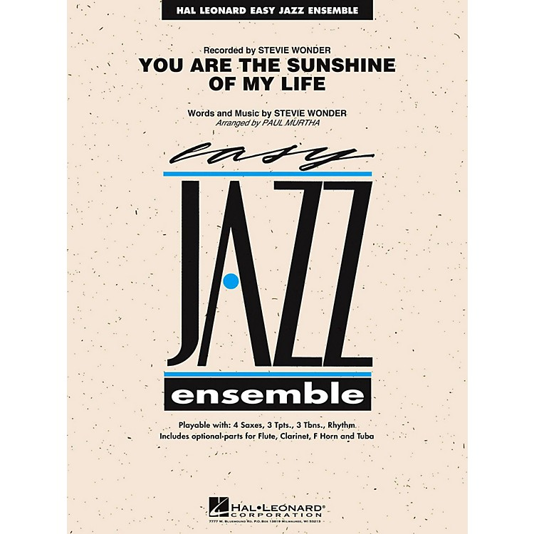 Hal Leonard You Are The Sunshine Of My Life Jazz Band Level 2