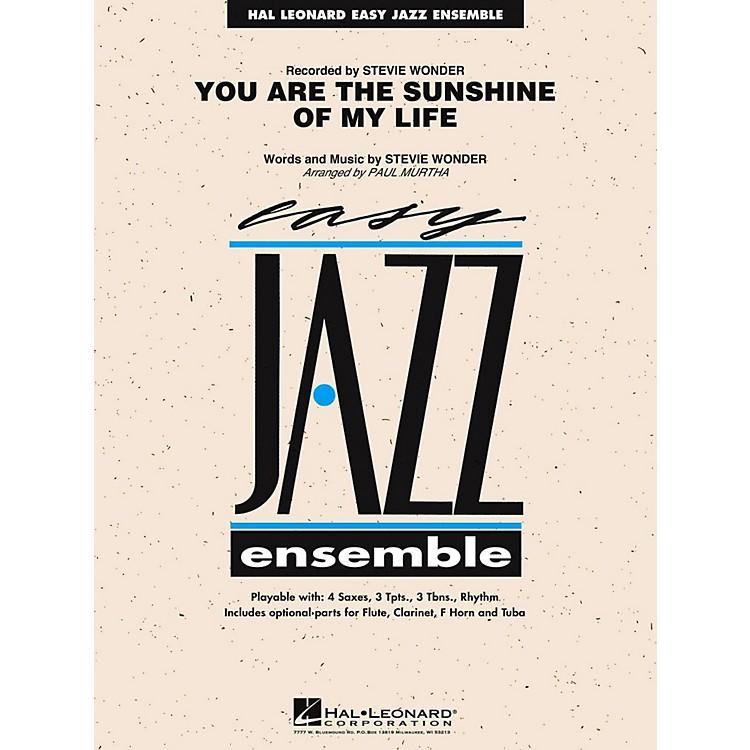 Hal LeonardYou Are The Sunshine Of My Life Jazz Band Level 2