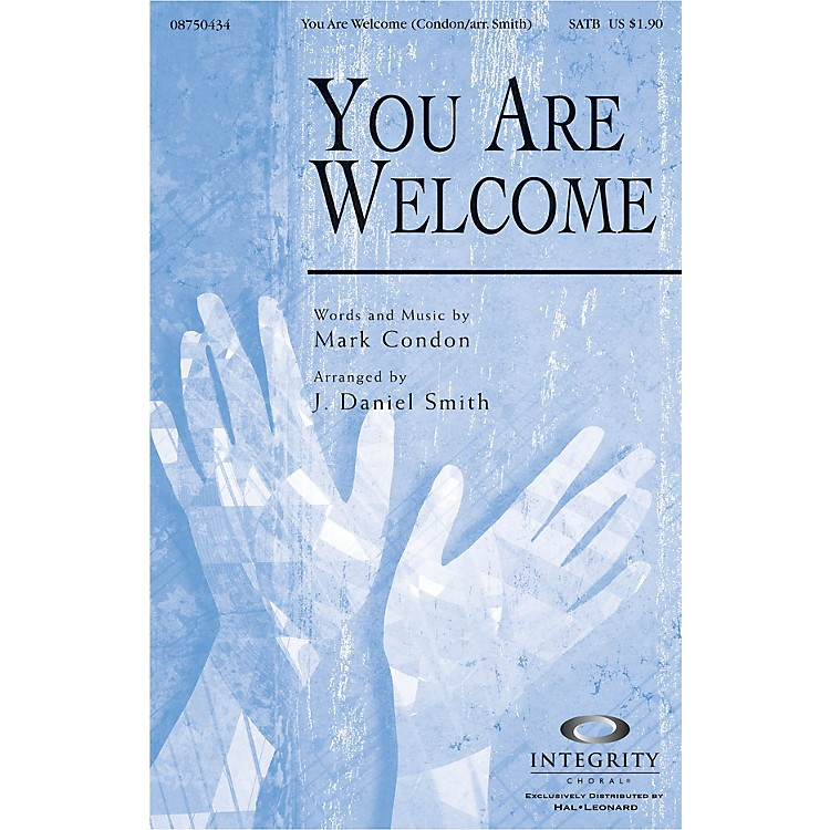 Integrity ChoralYou Are Welcome Accompaniment CD Arranged by J. Daniel Smith