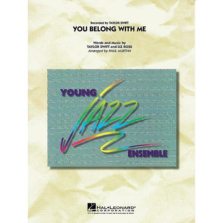 Hal LeonardYou Belong with Me Jazz Band Level 3 Arranged by Paul Murtha