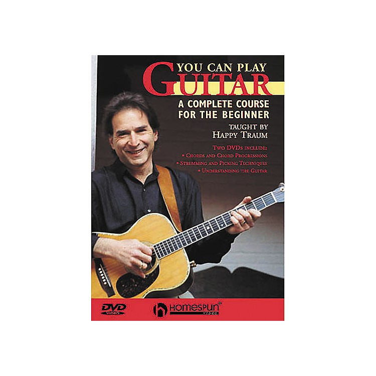 HomespunYou Can Play Guitar (DVD)