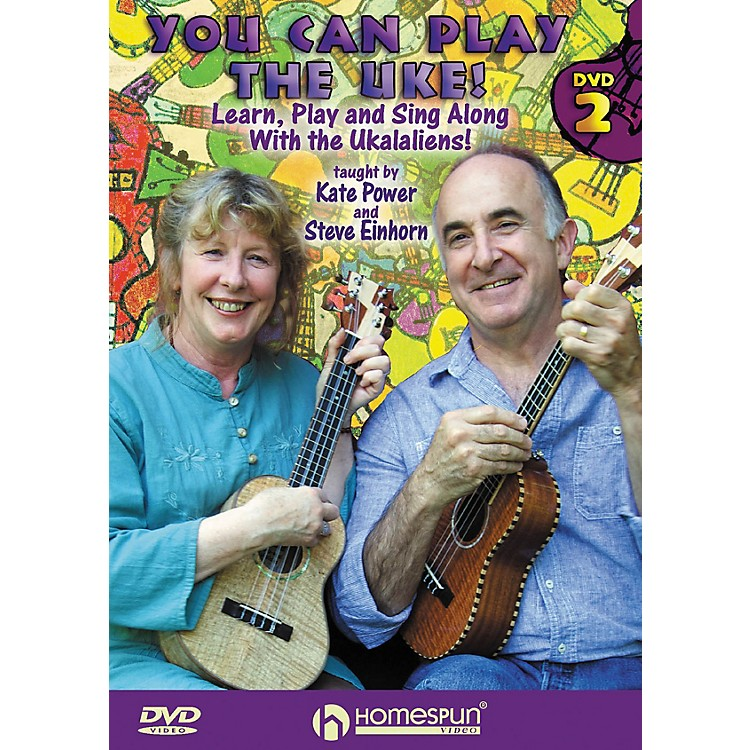 HomespunYou Can Play the Uke! Homespun Tapes Series DVD Performed by Kate Power