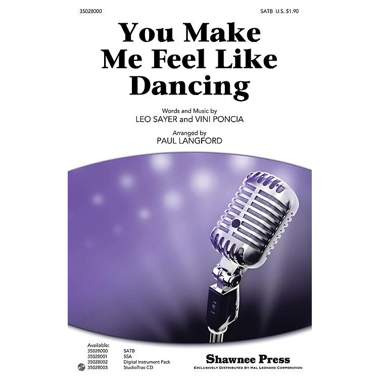 Shawnee PressYou Make Me Feel Like Dancing Studiotrax CD by Leo Sayer Arranged by Paul Langford