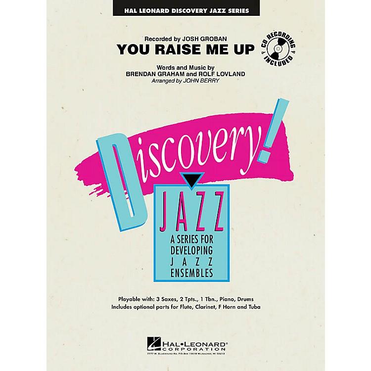 Hal LeonardYou Raise Me Up Jazz Band Level 1-2 Arranged by John Berry