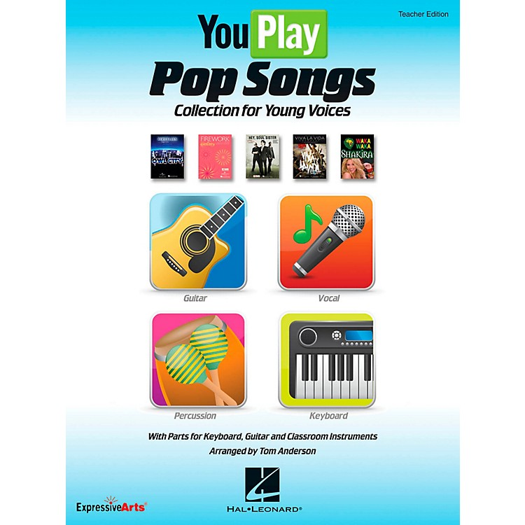 Hal LeonardYouPlay Pop Songs Collection for Young Voices, Teacher's Edition