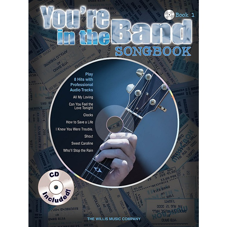Willis MusicYou're in the Band - Songbook 1 Willis Series Softcover with CD