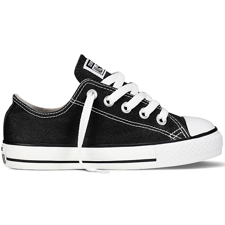 Converse Youth Chuck Taylor All Star Oxford Black 10.5