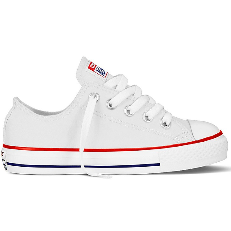 Converse Youth Chuck Taylor All Star Oxford Optical White 11.5
