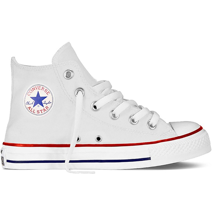 Converse Youth Chuck Taylor Core Hi Top Optical White 12