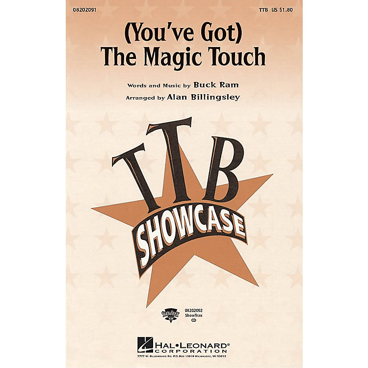 Hal Leonard(You've Got) The Magic Touch ShowTrax CD Arranged by Alan Billingsley