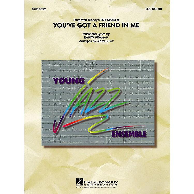 Hal LeonardYou've Got a Friend in Me Jazz Band Level 3 Arranged by John Berry