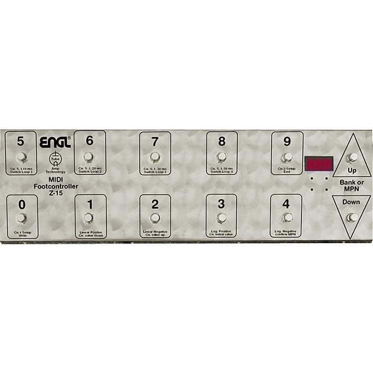 EnglZ-15 MIDI Footcontroller