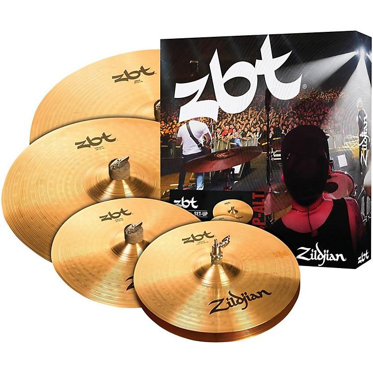 ZildjianZBT Pro Cymbal Set with Free 14