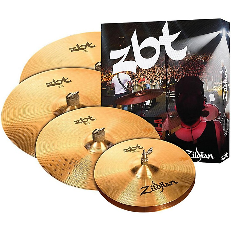 ZildjianZBTP390-A Cymbal Set with free 18