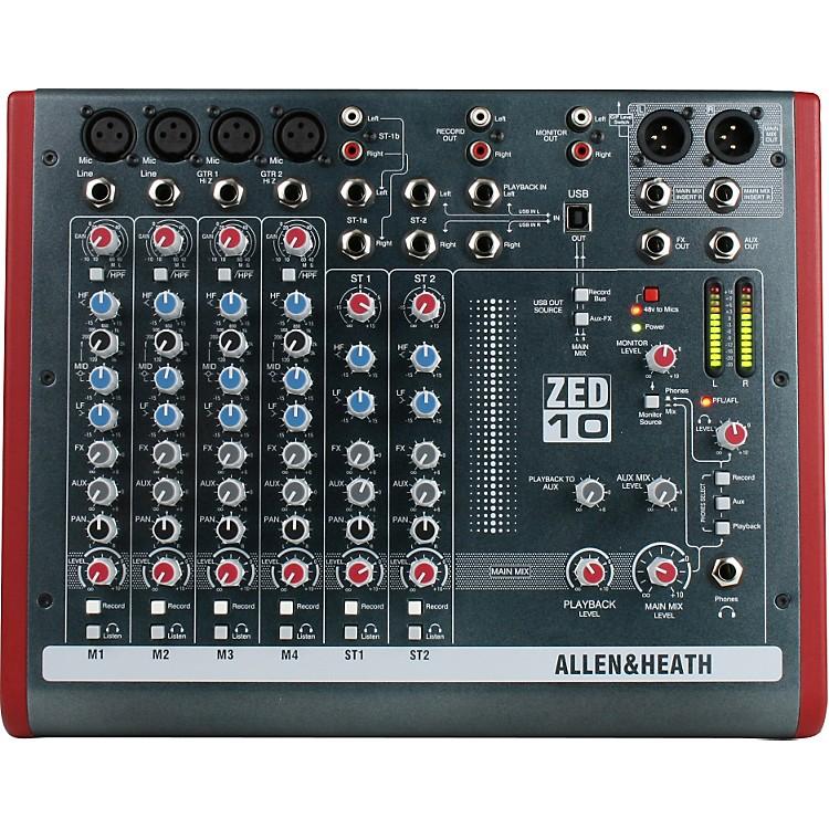 Allen & HeathZED-10 10-Channel USB Mixer