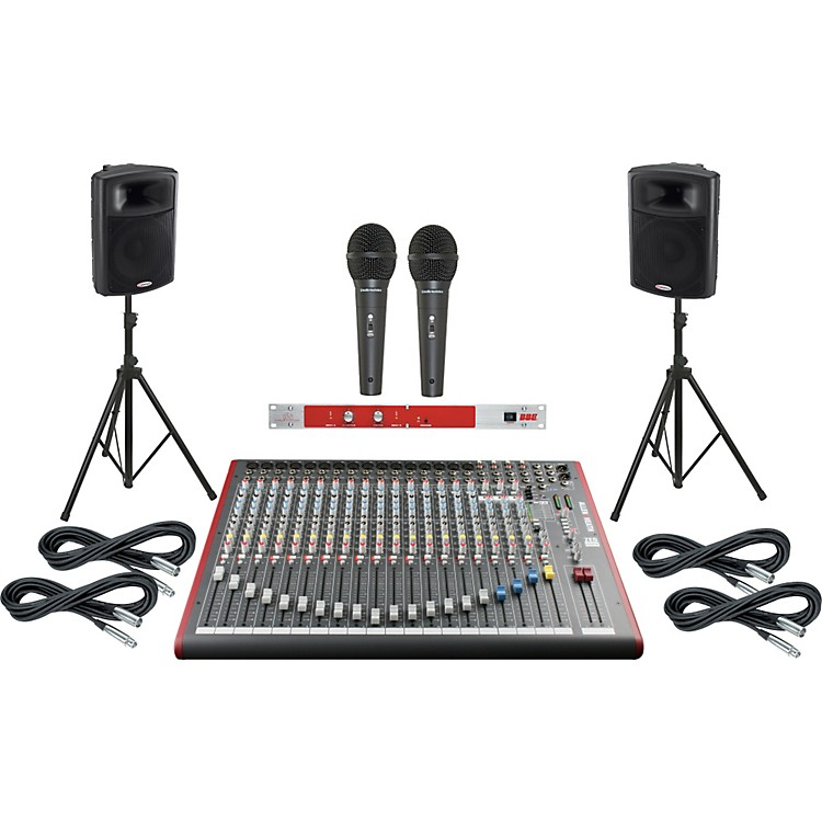 Allen & HeathZED-22FX / Harbinger APS15 PA System with BBE 382i